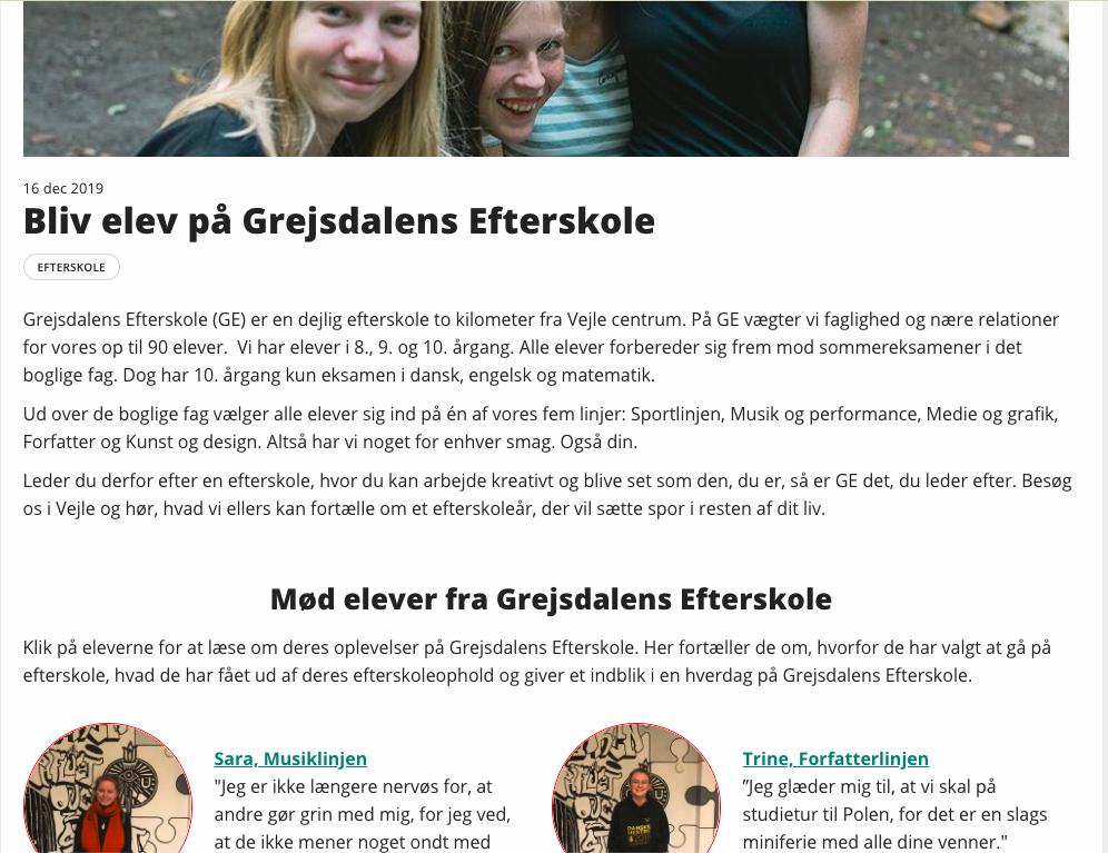 Profil på studentum.dk